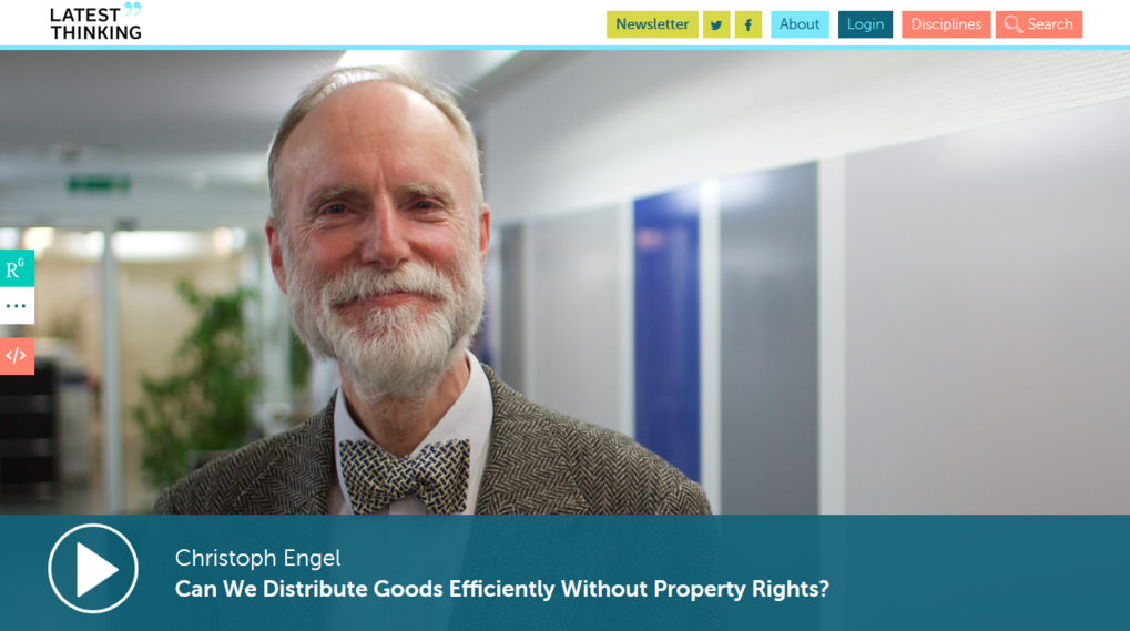 Can We Distribute Goods Efficiently Without Property Rights?